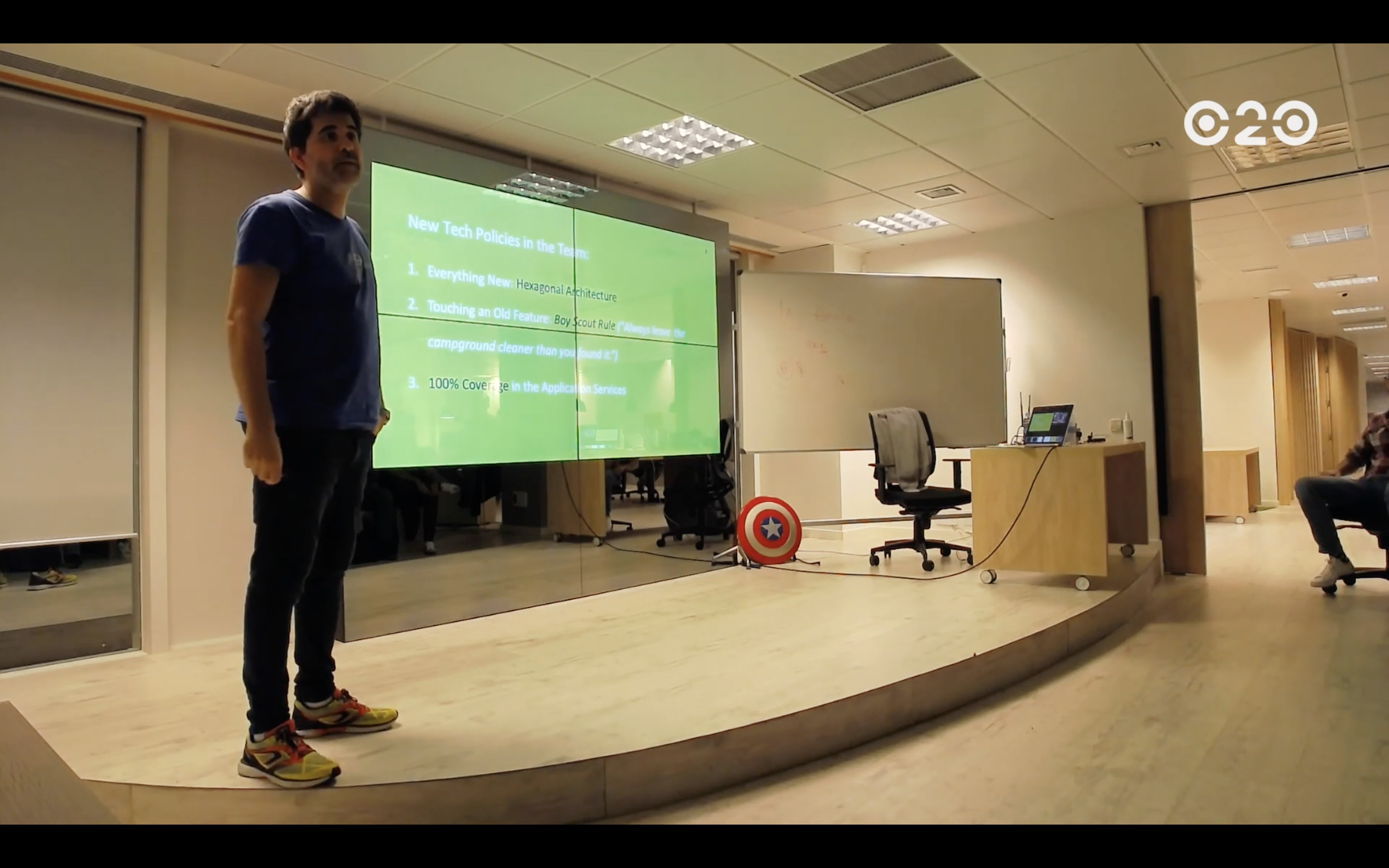 image from Consultoría en O2O y Charla en PHPMad: Road from Hexagonal Architecture to Event Sourcing
